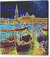 Venice Venezia Glow Canvas Print