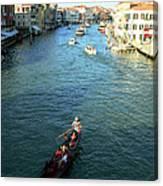 Venice View Canvas Print