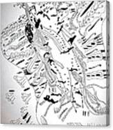 Venus - Mary - Star Of The Sea Canvas Print