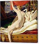 Venus Rising From Her Couch Canvas Print