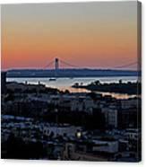 Verazano Sunset Canvas Print