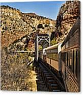 Verde Valley Railway Canvas Print