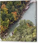 Verdon River Canvas Print