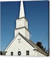 Vermont Church. Canvas Print