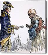Vermont: Manumission, 1777 Canvas Print