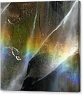 Vernal Falls Rainbow At Yosemite Canvas Print