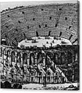 Verona: Amphitheater Canvas Print
