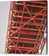 Vertebrae Of The Bridge Canvas Print