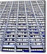 Vertical Urbanization Canvas Print