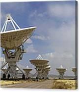 Very Large Array (vla) Radio Antennae Canvas Print
