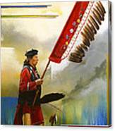 Veteran Dancer Canvas Print