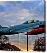 Vfw F-80 Shooting Star Canvas Print