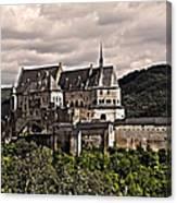 Vianden Castle - Luxembourg Canvas Print