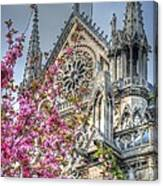 Vibrant Cathedral Canvas Print