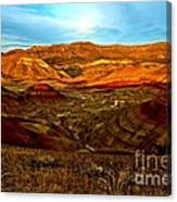 Vibrant Hills Canvas Print