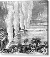 Victoria Falls, C1860 Canvas Print