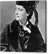 Victoria Woodhull 1838-1927, Early Canvas Print