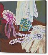 Victorian Lace Canvas Print