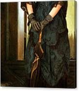 Victorian Lady  Canvas Print
