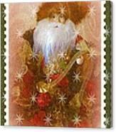 Victorian Santa Canvas Print