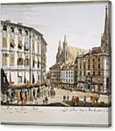 Vienna, 1779 Canvas Print