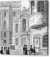 Vienna: Hofburgtheater Canvas Print