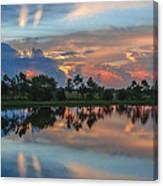 Viera Sunrise Canvas Print