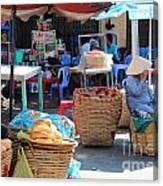 Vietnam Ctreet Canvas Print