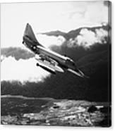 Vietnam War: A4 Skyhawk Canvas Print