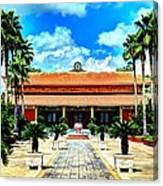 Vietnamese Buddhist Temple Canvas Print