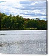 View Across The River Canvas Print