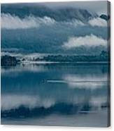 View At Sunset From The Lake Hotel In Killarney Ireland Canvas Print