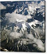 View From Above Canvas Print