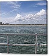 View From Across The Bay Canvas Print