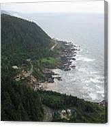 View From Cape Perpetua 2 Canvas Print