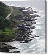 View From Cape Perpetua Canvas Print