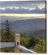 View From Clingmans Dome 2 Canvas Print