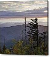View From Clingmans Dome 4 Canvas Print