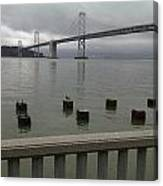 View From Embarcadero Canvas Print