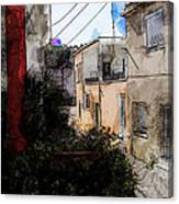 View From Kitchen Window --23 Canvas Print