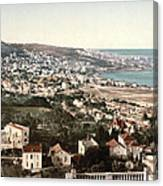 View From Mustapha - Algiers Algeria Canvas Print