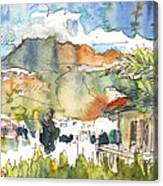 View From My Balcony In El Albir Canvas Print