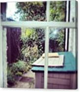 View From My Window, #cambridge #view Canvas Print