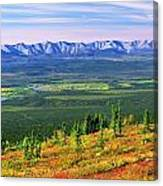 View From Ogilvie Ridge Lookout Canvas Print