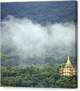 View From Phu Si Hill Canvas Print