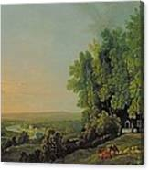 View From Richmond Canvas Print