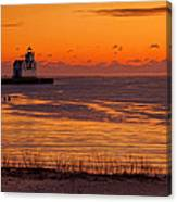 View From Shore Canvas Print