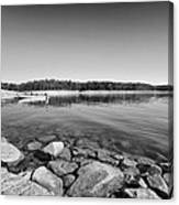 View From The Boat Ramp Canvas Print