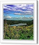 View From The Hilltop 2 Canvas Print