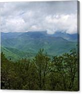 View From The Parkway Canvas Print
